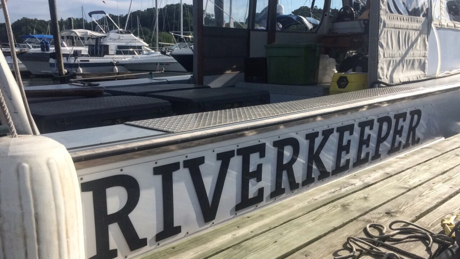Riverkeeper Boat Log: Water Sampling Patrol from Ossining to Brooklyn